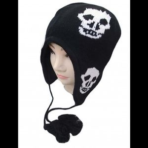 Skull trapper hat add on $5